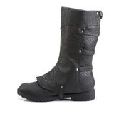 Funtasma - GOTHAM-105 - Black Distressed Pu - Men's Boots