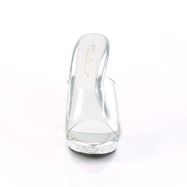 Fabulicious - LIP-101DM - Clear/ Silver Multi RS - Shoes