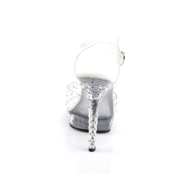 Fabulicious - LIP-108RS - Clear/Clear - Shoes