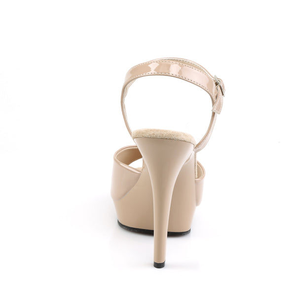 Fabulicious - LIP-109 - Nude/Nude - Shoes