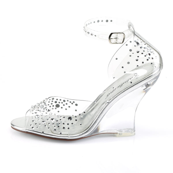 Fabulicious - LOVELY-430RS - Clear/Clear - Shoes
