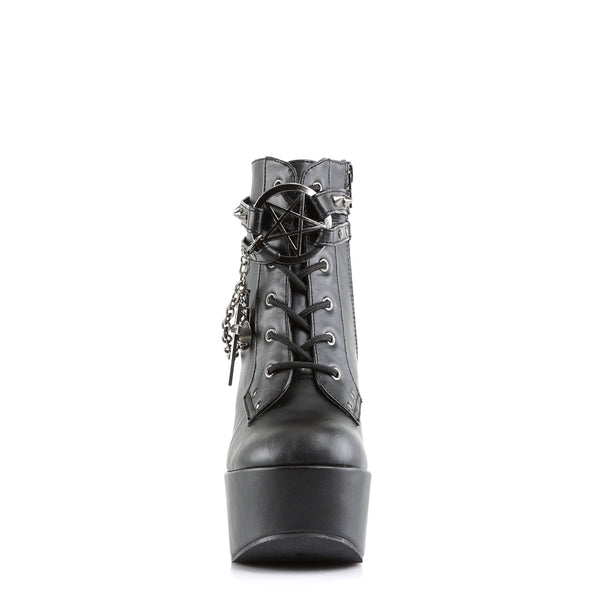 Demonia - POISON-101 - Black Vegan Leather