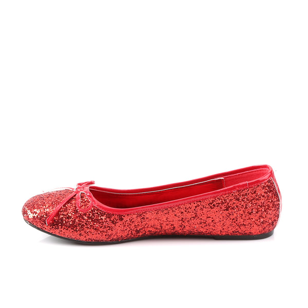 Funtasma - STAR-16G - Red Glitter - Women's Shoes