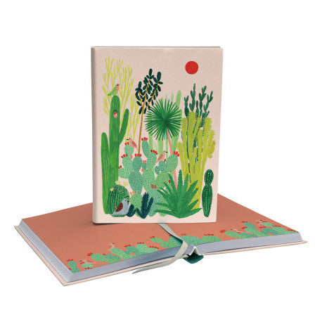 Cahier de notes - cactus