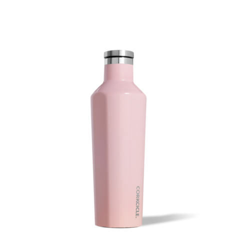 bouteille,isolante,isotherme,thermos,corkcicle,rose,acier inoxydable,16 oz, Particularité: -  froid-25-heures,chaud-12-heures,gourde,luxe,meilleur,etudiant,montreal,boutique-casa-luca,performance,bouteille-corckcicle-rose-monteal