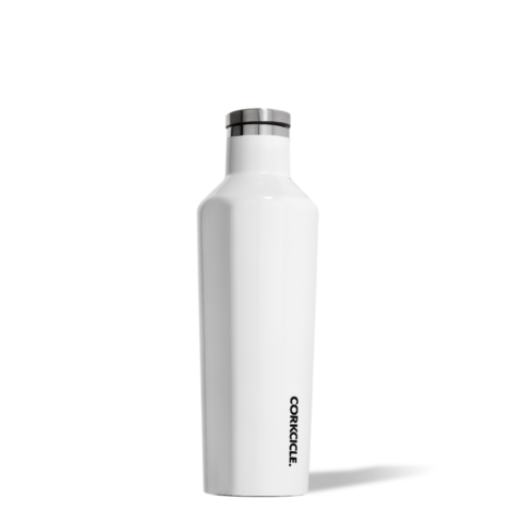 bouteille,isolante,isotherme,thermos,corkcicle,blanche,acier inoxydable,16 oz, Particularité: - froid-25-heures,chaud-12-heures,gourde,luxe,meilleur,etudiant,montreal,boutique-casa-luca,performance,bouteille-corckcicle-rose-monteal,gloss-white