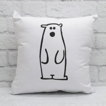 Grand coussin - Ours polaire