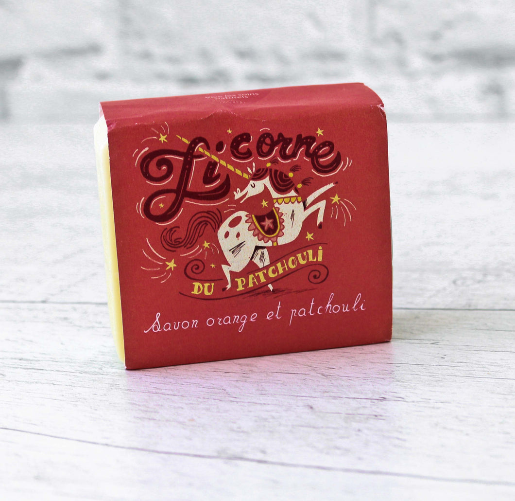 Savon Licorne - orange et patchouli