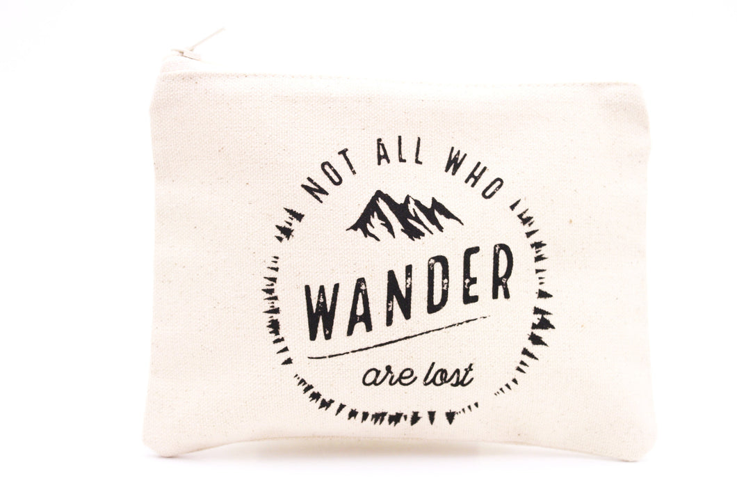 Pochette Not all who wander are lost