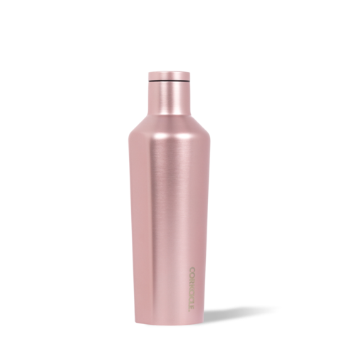 bouteille,isolante,isotherme,thermos,corkcicle,rose,acier inoxydable,16 oz,froid-25-heures,chaud-12-heures,gourde,luxe,meilleur,etudiant,montreal,boutique-casa-luca,performance,bouteille-corckcicle-monteal,cuivre,rose-metalique-metallique,rose