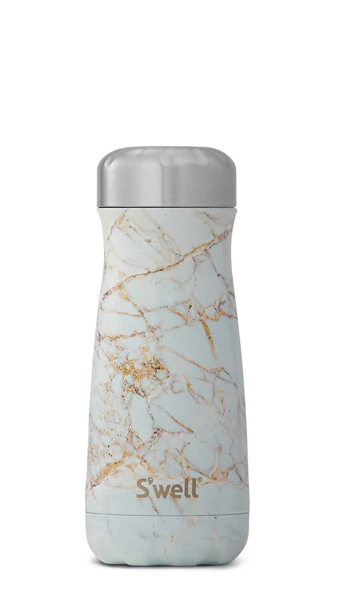 bouteille,bouteille-voyageur,isolante,isotherme,thermos,swell,marbre,acier inoxydable,16oz,gourde,luxe,meilleur,etudiant,montreal,boutique-casa-luca,performance,bouteille-swell-monteal