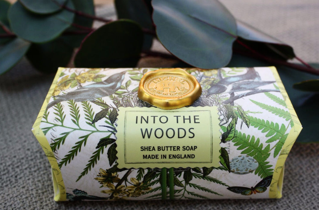 Savon artisanal- into the woods