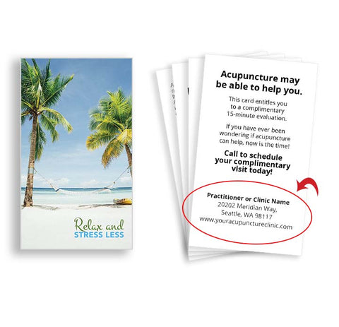 Call-to-Action Cards for Acupuncturists - Hammock