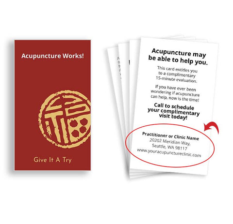 Call-to-action Cards for Acupuncturists - Prosperity