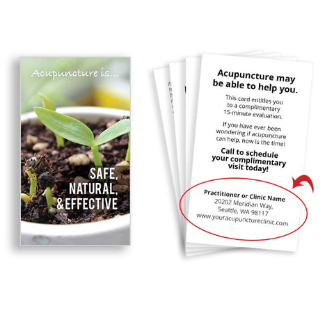 Call-to-action Cards for Acupuncturists - Sprout