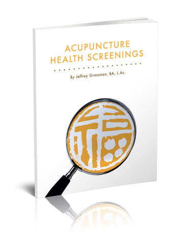 Acupuncture Health Screenings e-book