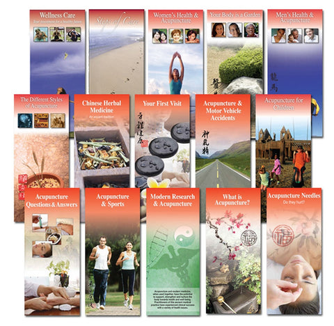 Set of All Brochures (15 Titles)