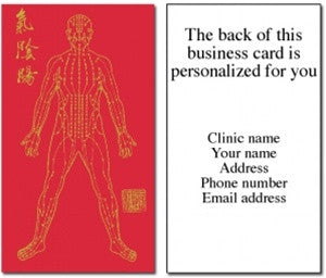 Meridian Man Business Card Reprints