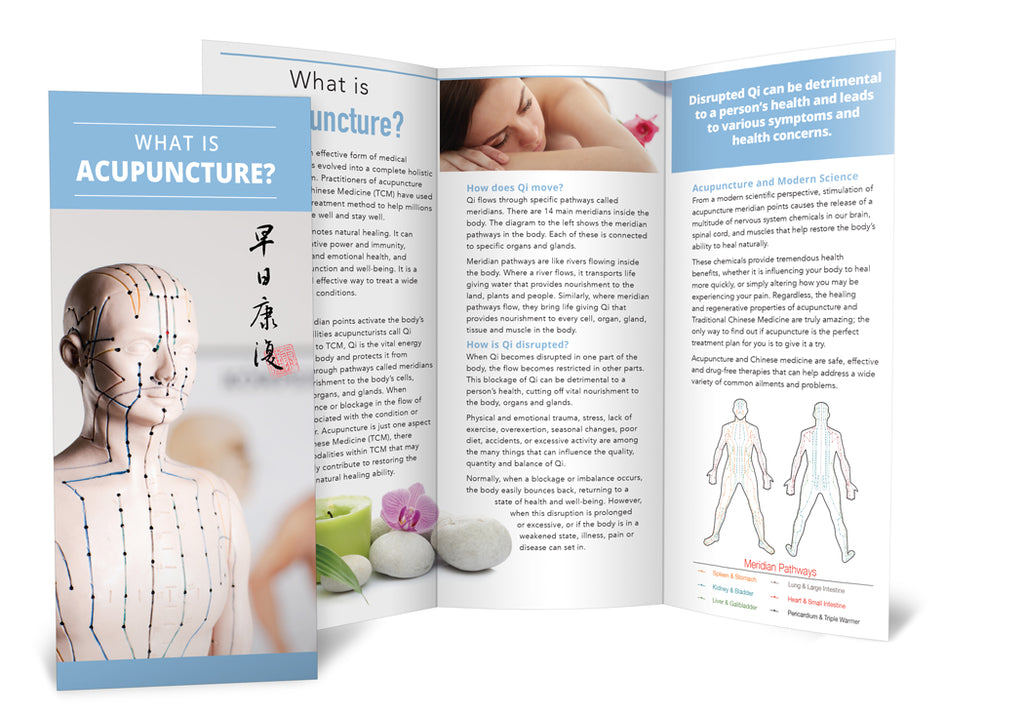 What is Acupuncture - Brochure