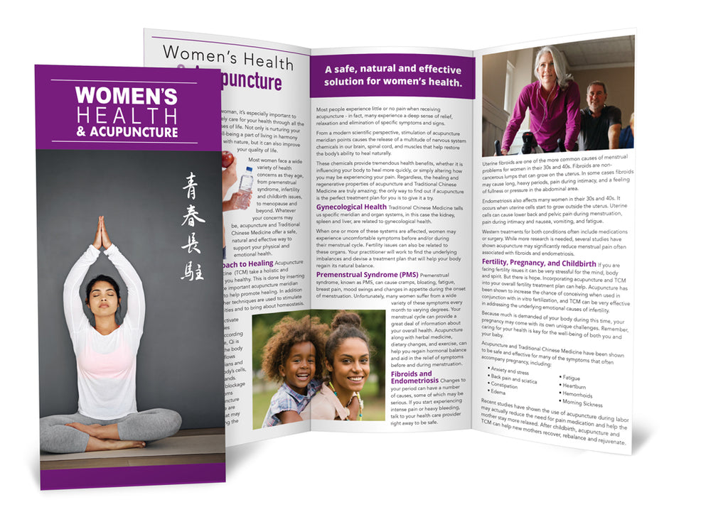 Women's Health & Acupuncture - Brochure