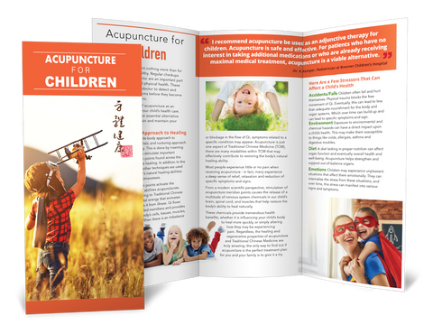 Acupuncture for Children  - Brochure