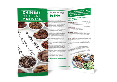 Chinese Herbal Medicine - Brochure