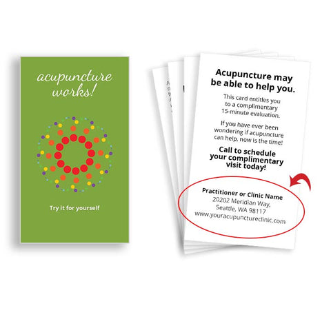 Call-to-Action Cards - Colored Circles
