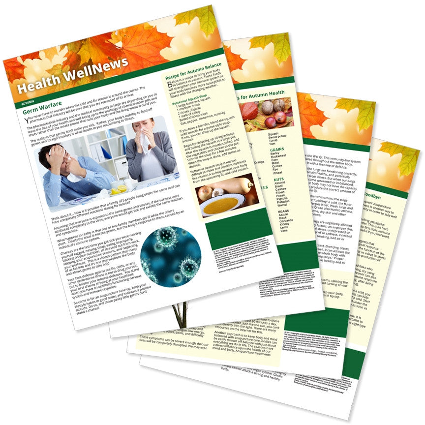 PERSONALIZED Health Well News - Autumn 2015 - Download & Print