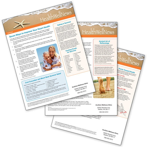 Health Well News - Summer #6 - Download & Print