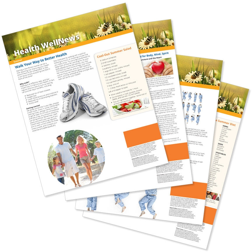 Health Well News - Summer #8 - Download & Print