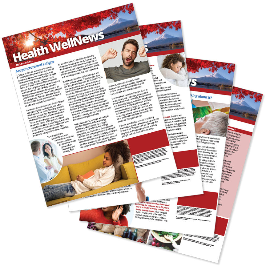 PERSONALIZED Health Well News - Autumn #13 - Download & Print
