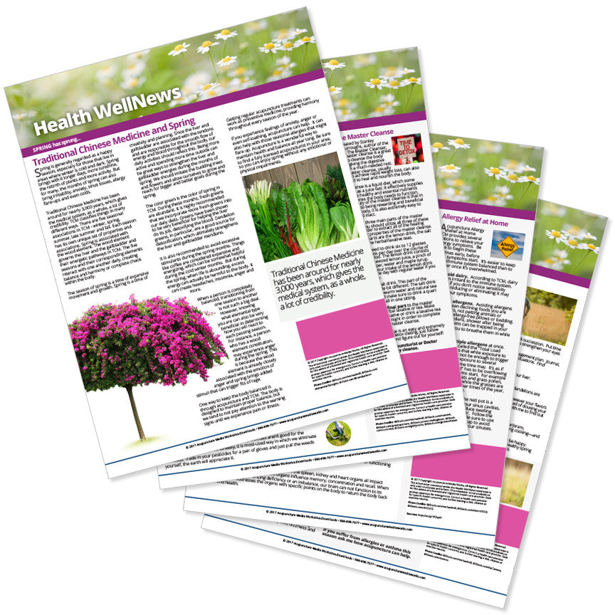 PERSONALIZED Health Well News - Spring #11 - Download & Print