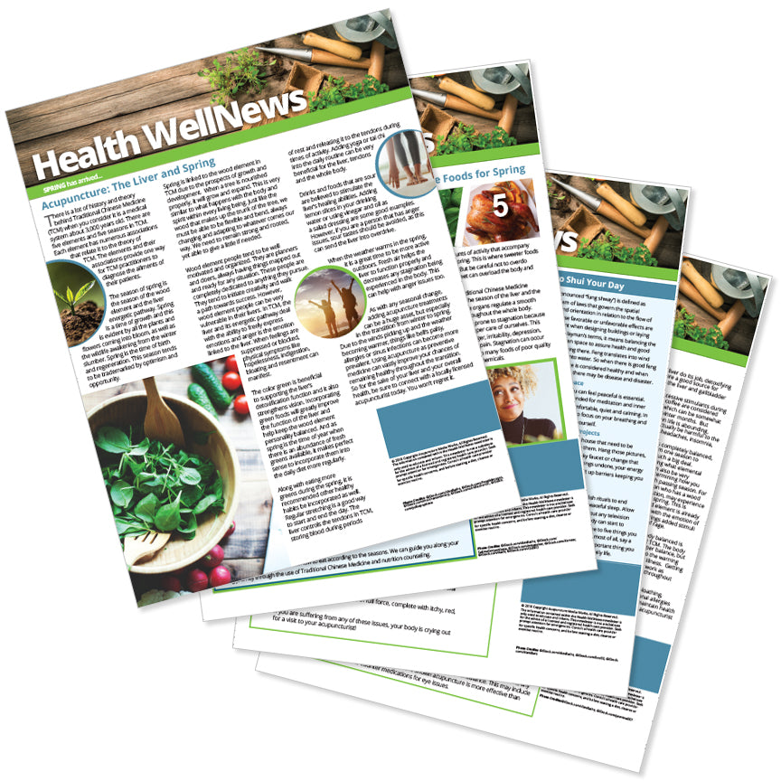PERSONALIZED Health Well News - Spring #12 - Download & Print
