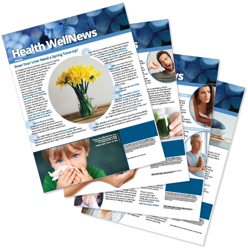 PERSONALIZED Health Well News - Spring #14 - Download & Print