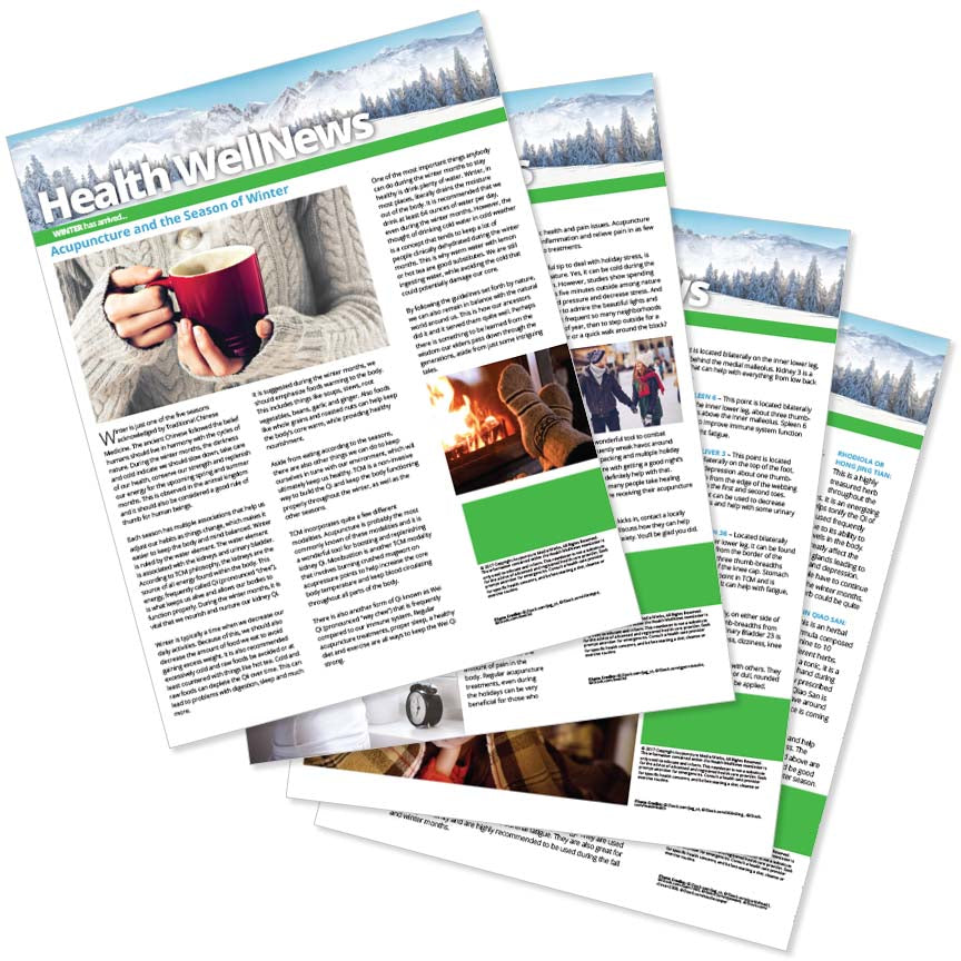 PERSONALIZED Health Well News - Winter 2017 - Download & Print