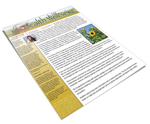 Summer Patient Newsletter #4 - Pack of 50