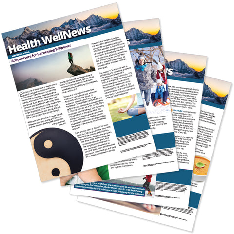 PERSONALIZED Health Well News - Winter 2018 - Download & Print