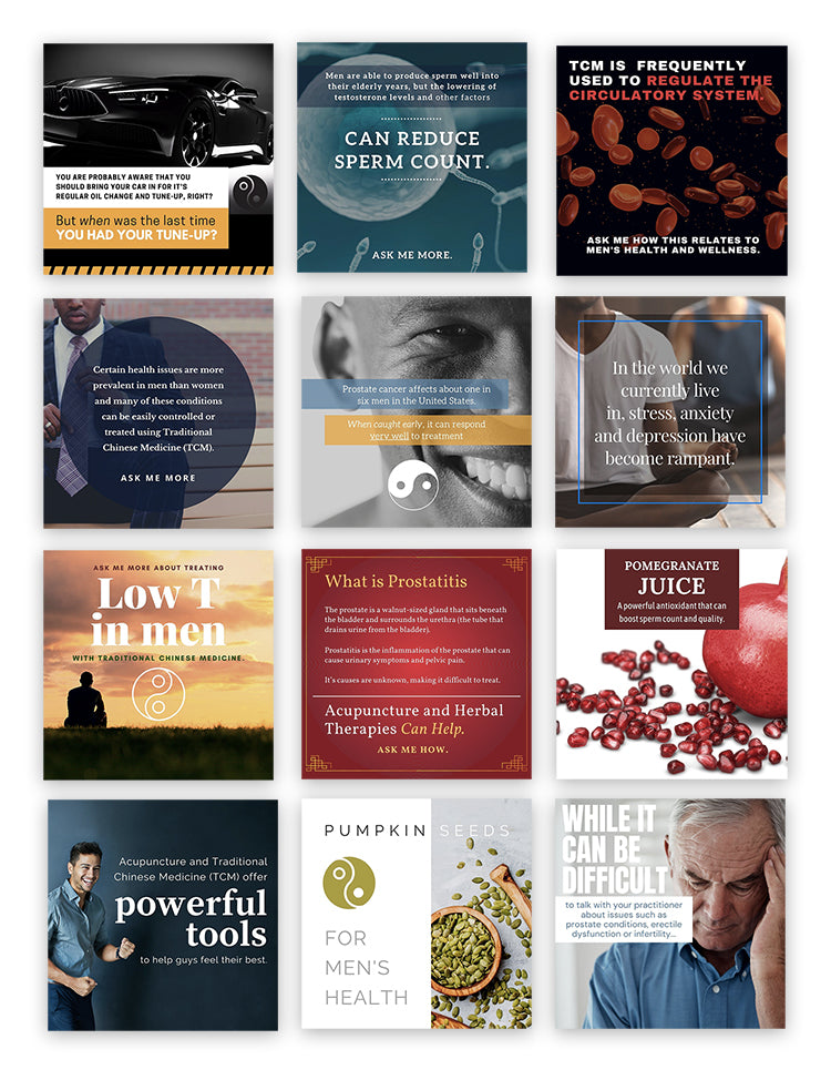 Social Media Bundle: Men's Health