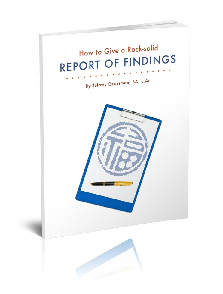 Inside Guide to a Rock-Solid Report of Findings e-book