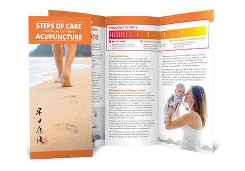 Steps of Care - Acupuncture Brochure
