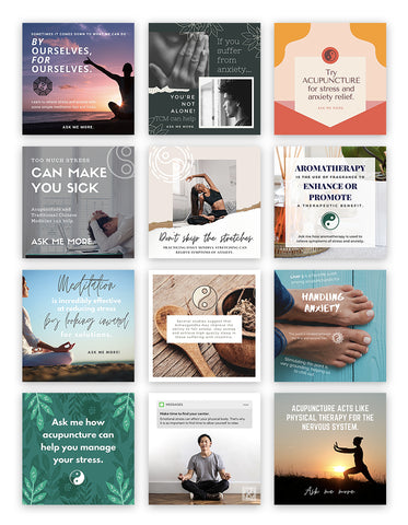 Social Media Bundle: Stress & Anxiety