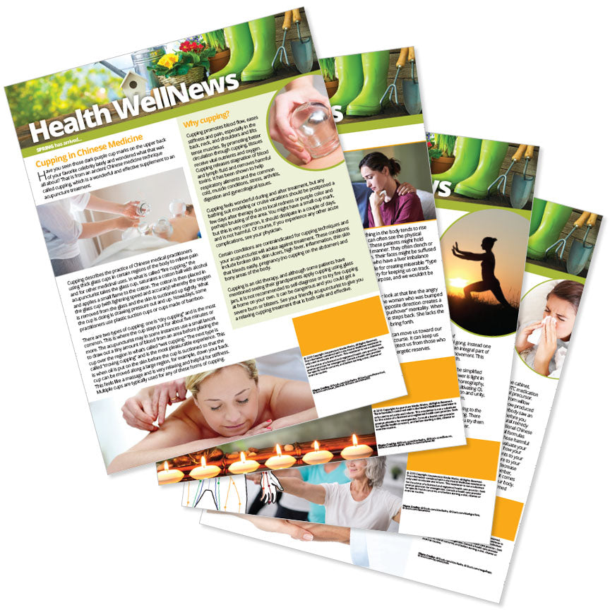 PERSONALIZED Health Well News - Spring #13 - Download & Print