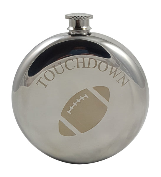 Football Flask Gift Set