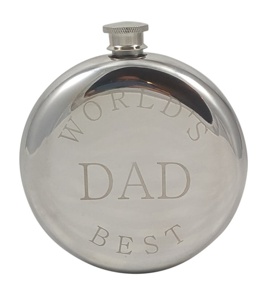 World's Best Dad Flask Gift Set