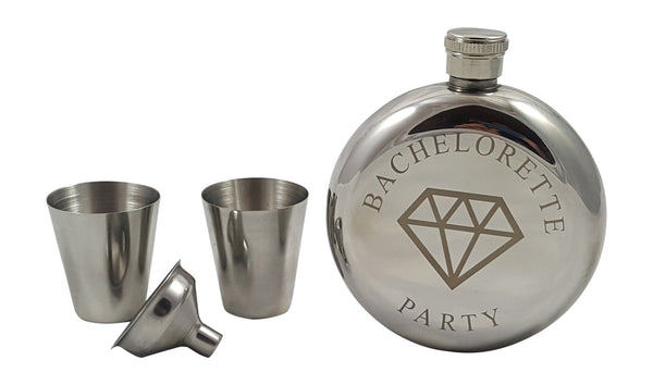 Bachelorette Party Flask Gift Set