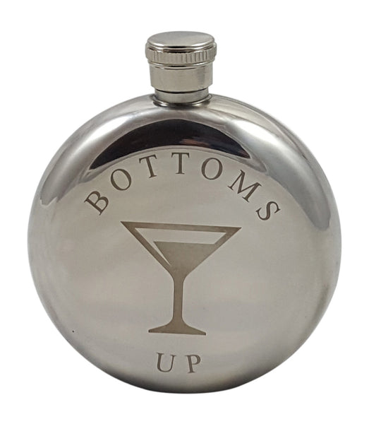 Martini Flask Gift Set