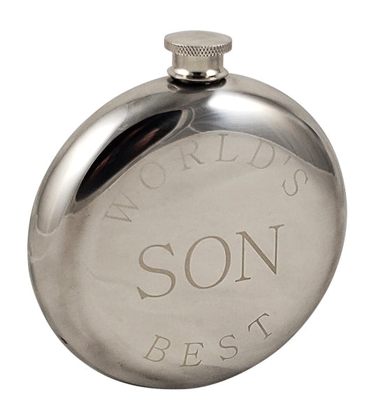 World's Best Son Flask Gift Set
