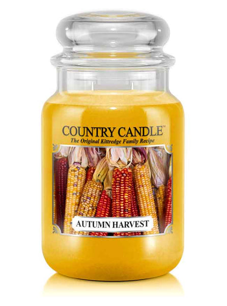 Autumn Harvest Large Jar Candle