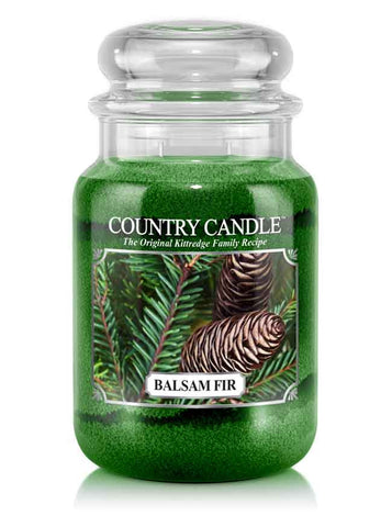 Balsam Fir Large Jar Candle