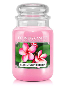 Blooming Plumeria Large Jar Candle